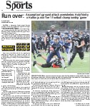 Run over: Assumption's ground attack overwhelms Holy Trinity in Halton junior Tier 1 football championship game