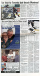 Ice lose to Toronto but thrash Montreal