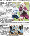 Field lacrosse star Morris humbled by newest opportunity