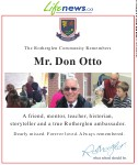 Otto, Don (Died)