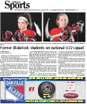 Former Blakelock students on national U22 squad