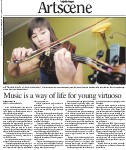 Music is a way of life for young virtuoso