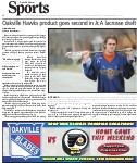 Oakville Hawks product goes second in Jr. A lacross draft
