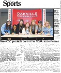 Nine OSC products commit to NCAA soccer teams