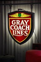 Gray Coach Lines Sign