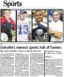 Oakville's newest sports hall of famers