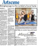 Bringing yoga to the comfort of your home