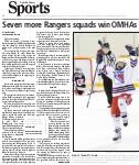 Seven more Rangers squads win OHMAs