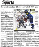 Rangers teams take different paths to OMHA gold