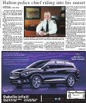 Halton police chief riding into his sunset