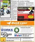 Motorcycle noise testing
