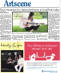 Teen musician Ivy James performs at JuneFest today