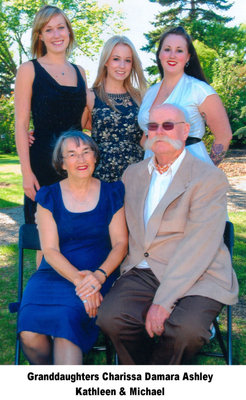 Kathleen & Michael Lett  with granddaughters