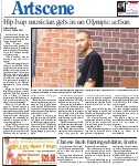 Hip-hop musician gets in on Olympic action