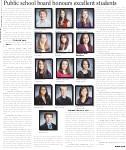 Public school board honours excellent students