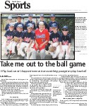 Take me out to the ball game: Why local senior's happiest moments are watching youngsters play baseball