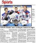 Oakville Blades' new era begins tomorrow night