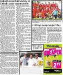 U-14 boys sweep league title