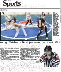 Young official earns his stripes -- and bands -- in OHL
