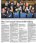 May Court puppet shows tackle bullying