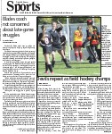 Devils repeat as field hockey champs