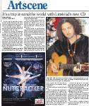 It's a trip around the world with Linstead's new CD