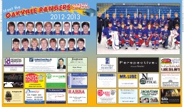 Meet the Oakville Rangers '98 Major Bantam AA: 2012-2013