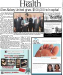 Glen Abbey United gives $100,000 to hospital