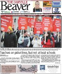 Teachers on picket lines, but not at local schools