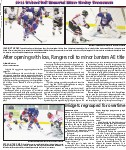 After opening with loss, Rangers roll to minor bantam AE title: Leading the way