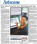 Your heart must be in it, Sheridan grad says. Animation bachelor of applied arts: Part 3 of 3