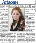 Soloist brings romance to stage: on the cello