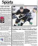 Penalties sink Titans in hockey final
