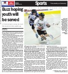 Buzz hoping youth will be served: Jr. B lacrosse team is young, but coach feels exerience belies players' age
