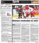 Alderson overlooked no more: Injury hindered Alderson as OHL sophomore