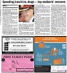 Speeding, break-ins, drugs -- top residents' concerns