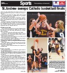 St. Andrew sweeps Catholic basketball finals