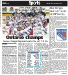 Host Rangers bow out in semis at OHF tourney
