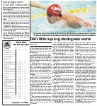 OAK's White tops long-standing swim records