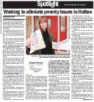 Working to alleviate poverty issues in Halton: Living in Poverty