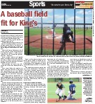A baseball field fit for Kings: Positive reaction to new field, despite its quirks