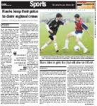 Hawks keep their poise to claim regional crown: Ejections of Trinity players pivotal in soccer final