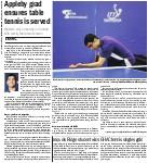 Iroquois Ridge student wins GHAC tennis singles gold