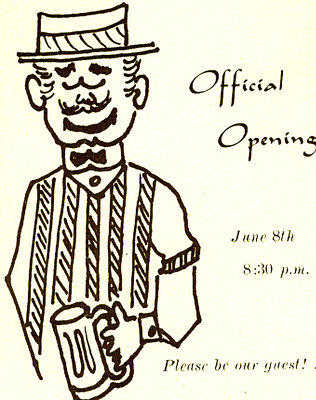 Official opening card