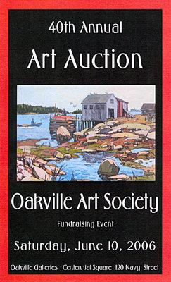 Brochure: 40th Annual Art Auction