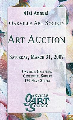 Brochure: 41st Annual Art Auction