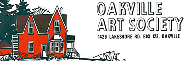 "Oakville Art Society Logo (#2) ""The Red House"""