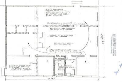 "Floorplan for the ""Cottage"""