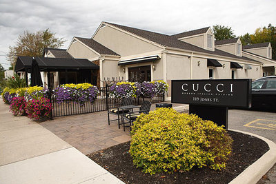 Cucci Restaurant Façade.