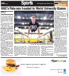 OGC's Paterson headed to World University Games